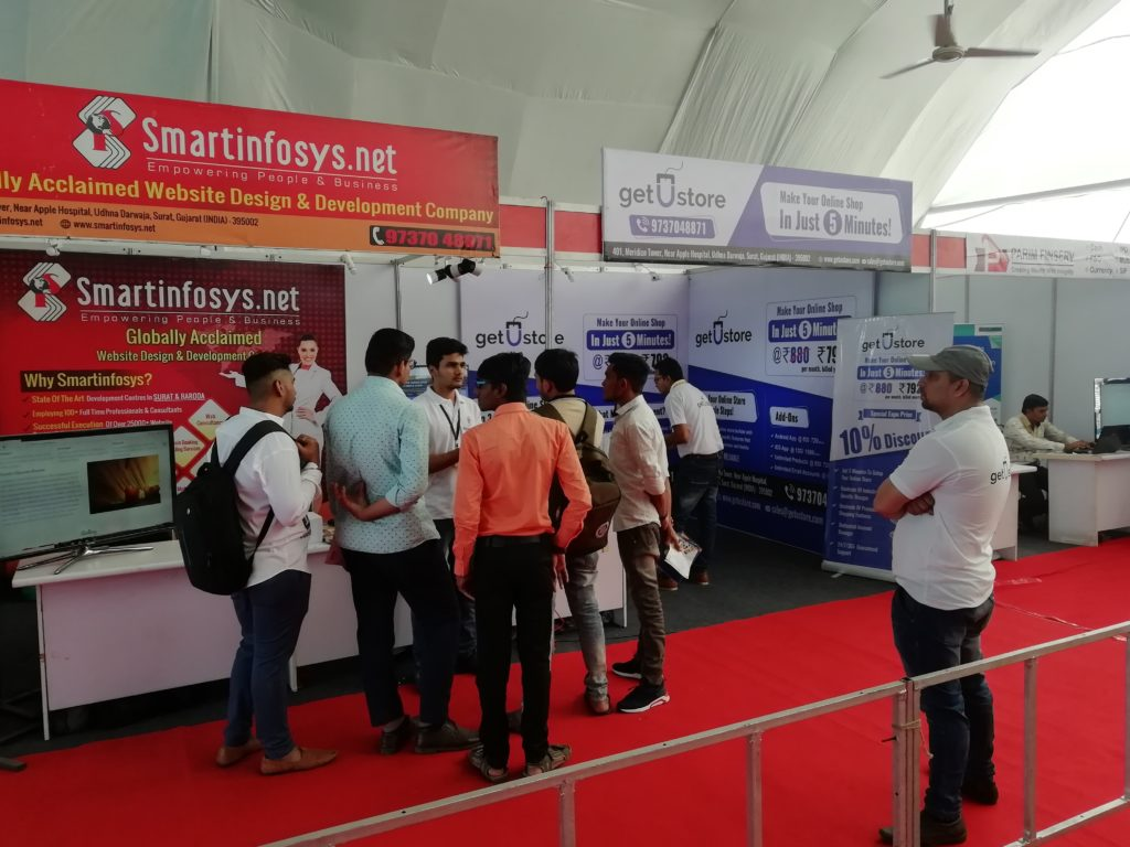 getUstore gets an encouraging response at IT Expo - 2019