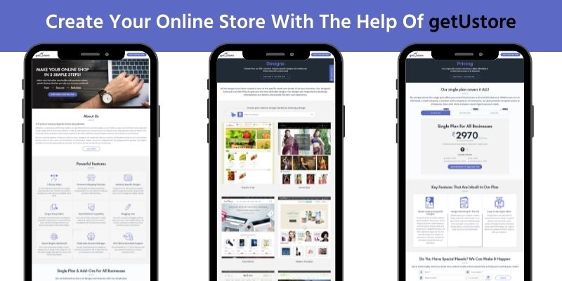 Create your online store