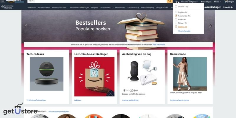 build your own ecommerce site